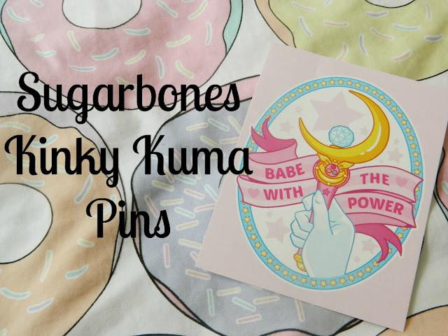Sugarbones Kinky Kuma Pins