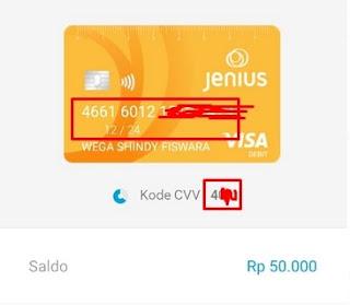 Informasi Lengkap Kartu Kredit Jenius