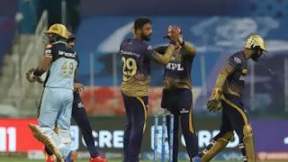 KKR vs RCB 31st Match IPL 2021 Highlights
