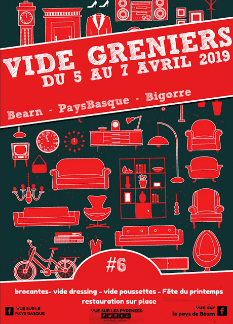 Vide Grenier Brocantes #6 des Pyrénées 2019