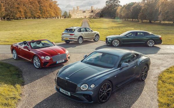 Bentley, do Grupo Volkswagen, tem disparada de vendas em 2021