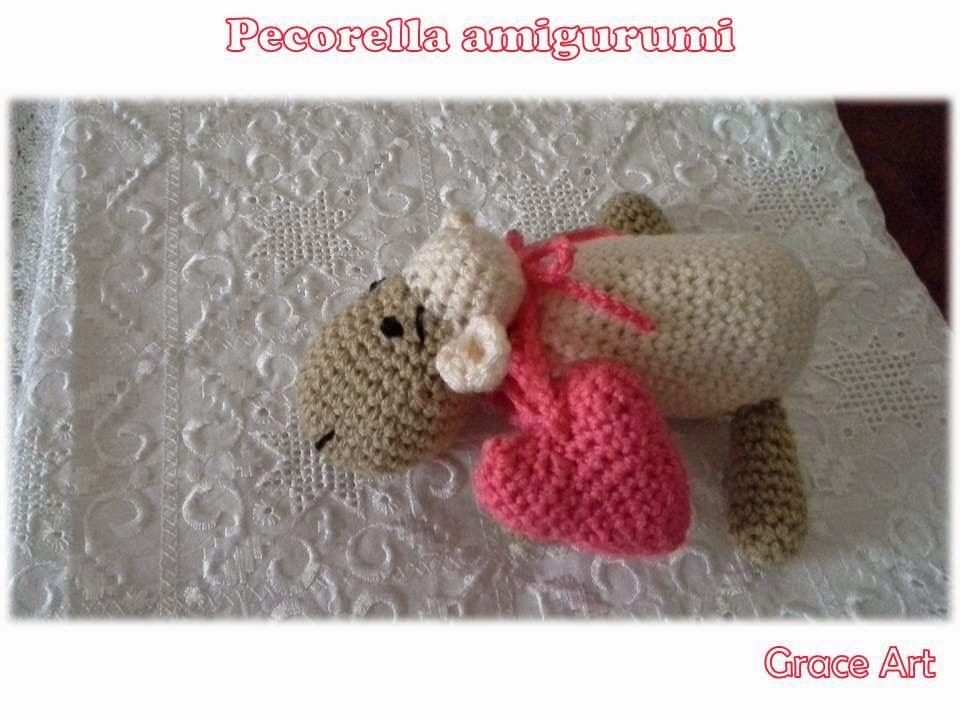 Amigurumi portachiavi pecorella - Amigurumi Gratis Free | 720x960