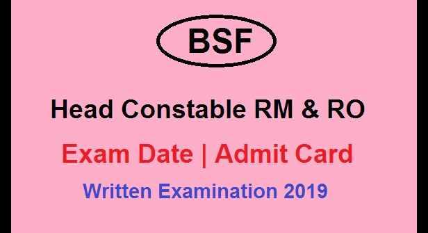 BSF 2019