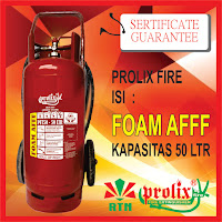New Prolix Fire Extinguisher PFT-50 (Kapasitas 50 Liter)