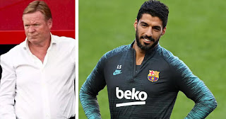Barcelona boss Koeman reveals Suarez will be part of the squad if he stays