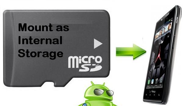 How To Set Your Sdcard As Internal Storage On android Without Root