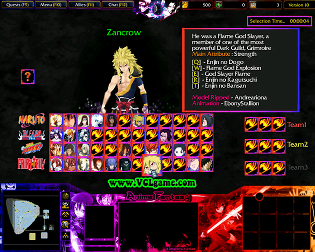 Anime Fantasy 11 Map Download Game2f