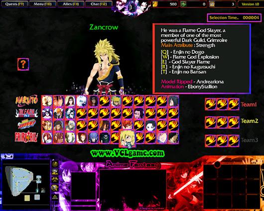 Anime Fantasy V1.0n Map Anime Fantasy V1.0n.w3x Created By