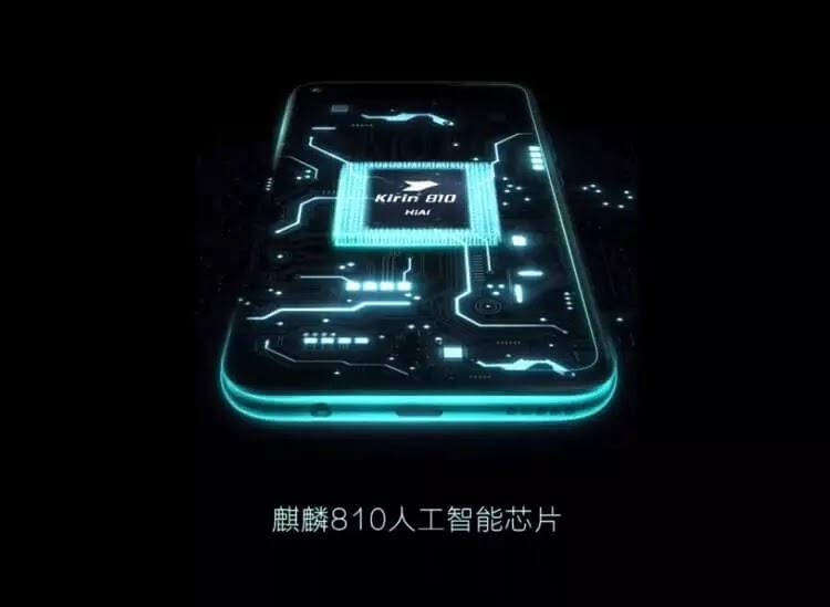 Huawei Nova 5i Pro is powered by Kirin 810 chipset