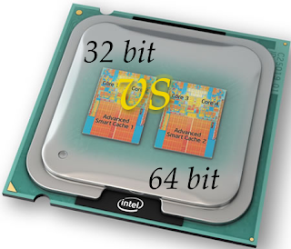 Processor is 32 or 64 Bits