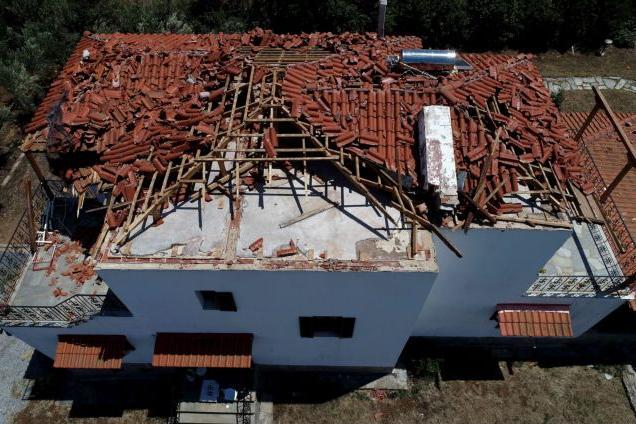 500 αιτήσεις αποζημίωσης στην Χαλκιδική - Χωρίς στέγη πολλά σπίτια