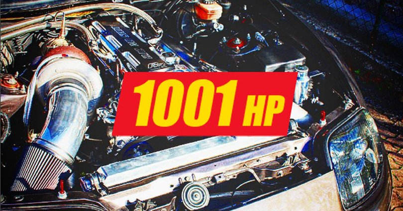 he 1001 HP Road Legal Supra