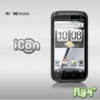 NS Mobile iCon Fly 4, harga dan spesifikasi