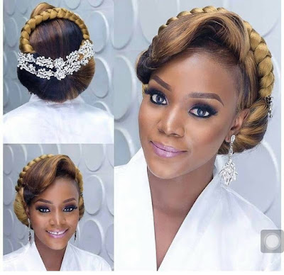 Best Nigerian Bridal Hairstyles