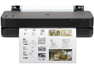 Téléchargement du pilote d'imprimante traceur HP DesignJet T230 grand format jusqu'à A1-24''(5HB07A)