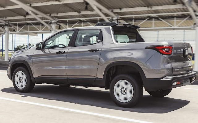 Fiat Toro conta com taxa zero e bônus de R$ 10 mil