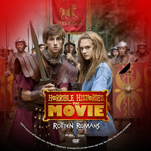 Horrible Histories The Movie - Rotten Romans DVD Label