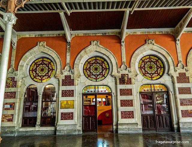 Estação de Sirkeci do Oriente Express, em Istambul