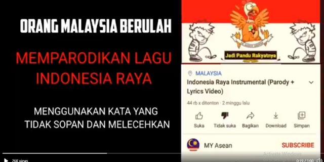 Lirik Lagu Indonesia Raya Dipelesetkan Dengan Kata-kata Kasar, Netizen Pun Bereaksi