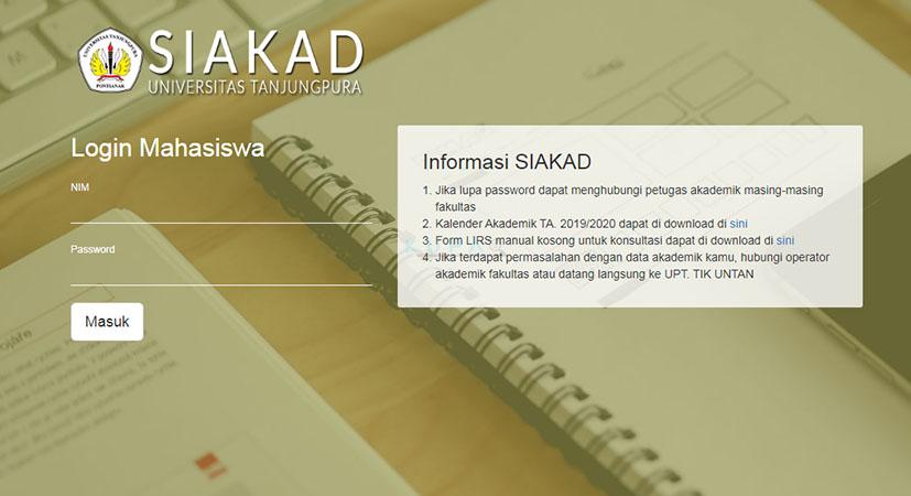 http://mahasiswa.siakad.untan.ac.id