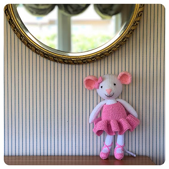 Matilda the Ballerina Mouse