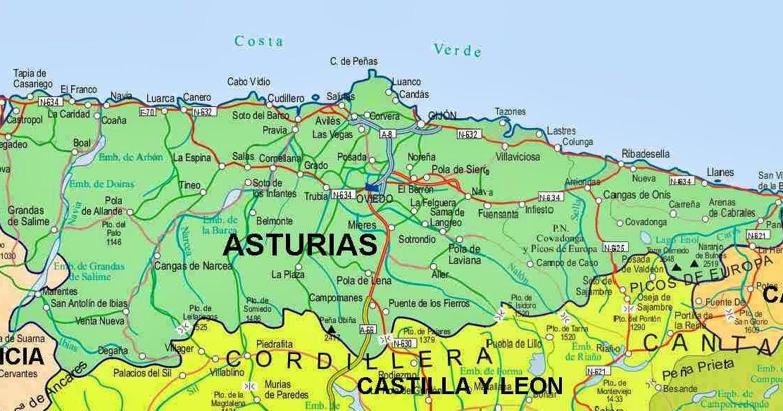 Mapa De Carreteras De Asturias Pdf