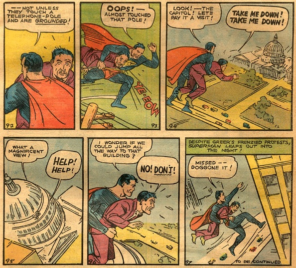 Action Comics #1 (1938): Superman by Jerry Siegel and Joe Shuster