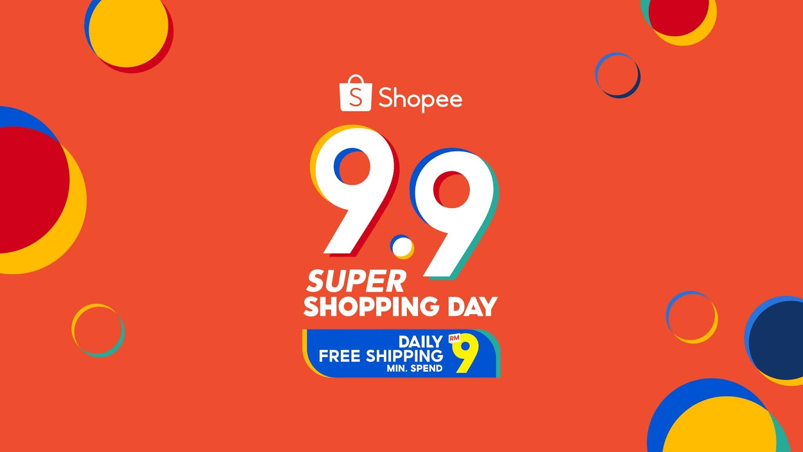 Shopee 9.9 Super Shopping Day - PENJANA Shop Malaysia Online Campaign