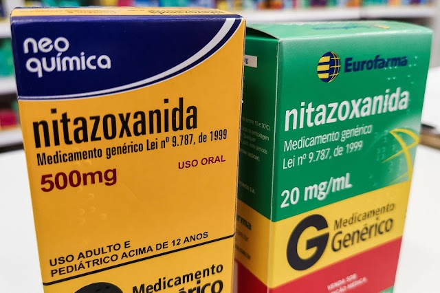 NITAZOXANIDA tem eficácia comprovada contra o coronavírus