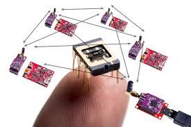 sensor internet yang terhubung melalui dunia