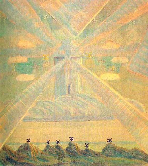 Чюрлёнис Микалоюс Константинас - Анданте (Соната весны). 1907