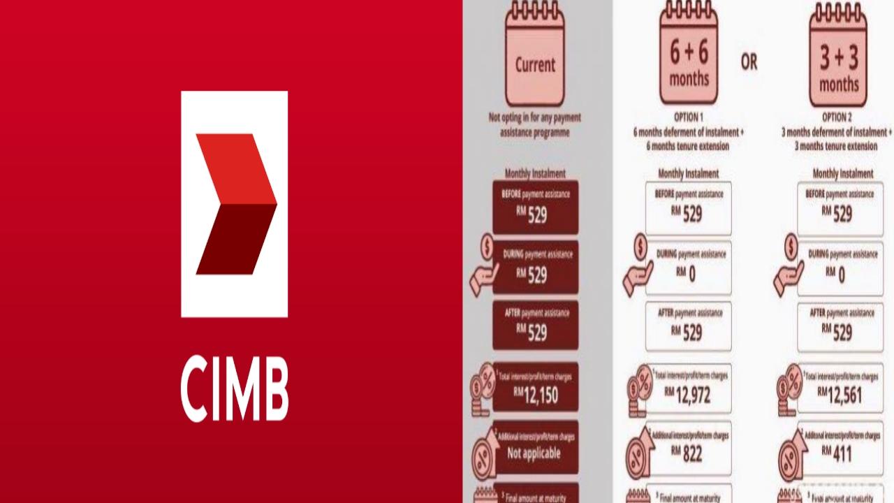 Permohonan Moratorium CIMB Bank 2021 Online (Semakan Status)