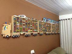Como organizar coleção de carrinhos