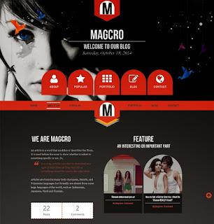 magcro-responsive-blogger-template