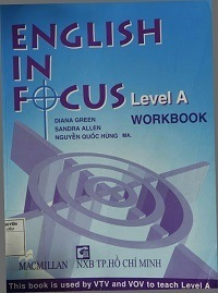 English In Focus Level A - Workbook - Diana Green