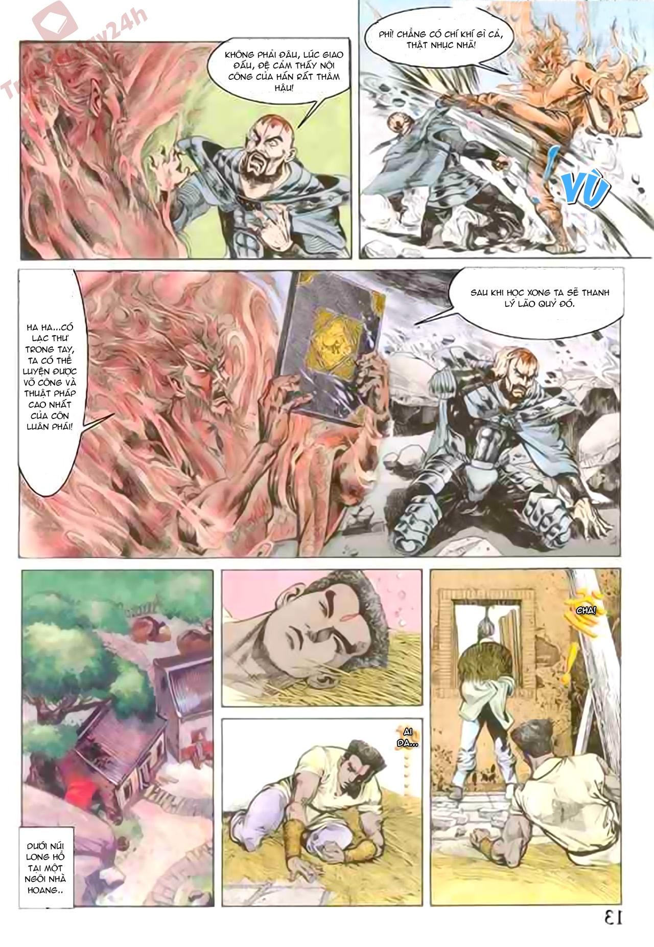 Cơ Phát Khai Chu Bản chapter 75 trang 12