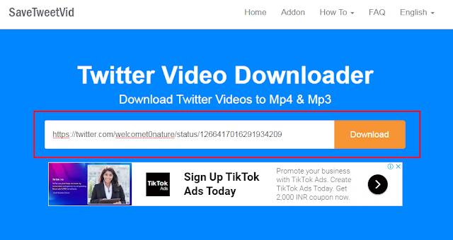 Twitter Video Down-loader