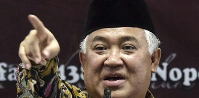 Din Syamsuddin: Dada Rakyat Juga Sesak, Tapi Tidak Bisa Menumpahkan Lewat Pidato Seperti Jokowi