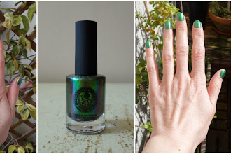 Lubie Vernis : Mutagen - Collection Ultra-Chrome -  I Love Nail Polish - ILNP