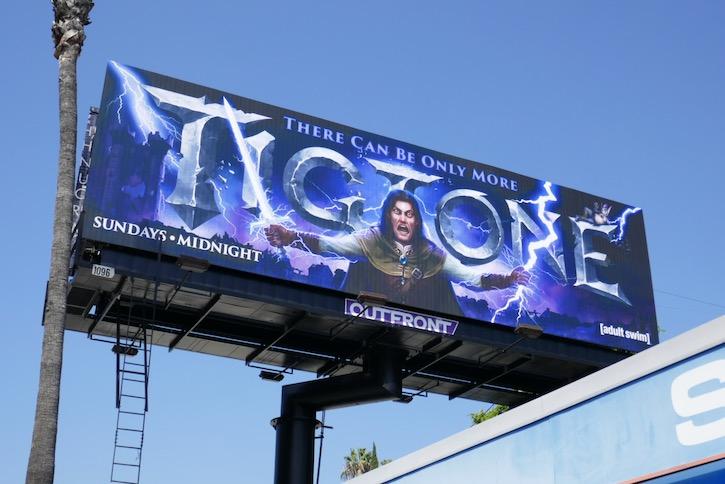 Tigtone season 2 Adult Swim billboard