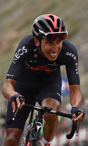 Egan Bernal afirma no estar en condición de ganar la Vuelta a España