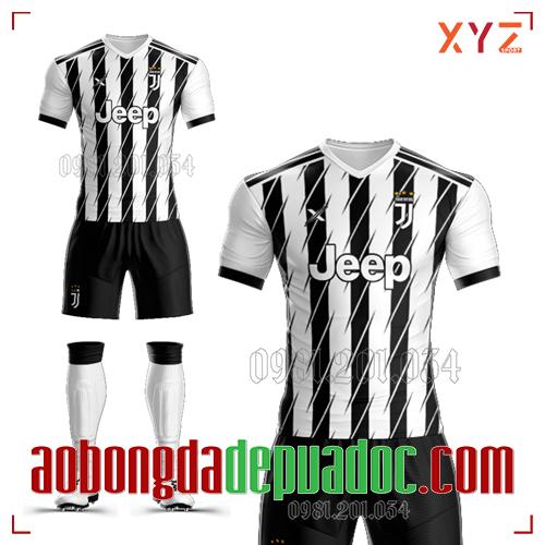 Áo CLB Juventus Tự Thiết Kế Mã JUVE-02 Đẹp Và Độc