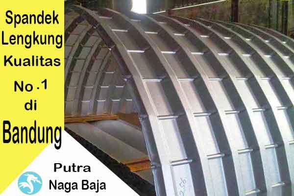 Harga Atap Spandek Lengkung Bandung Per Meter dan Per Lembar