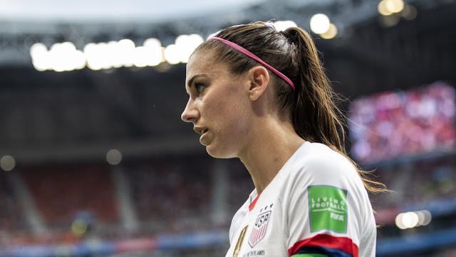 Accusation de viol : Alex Morgan s'attaque à nouveau à Cristiano Ronaldo