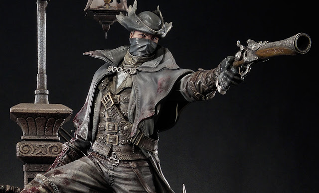 Se anuncia una espectacular figura del cazador de Bloodborne