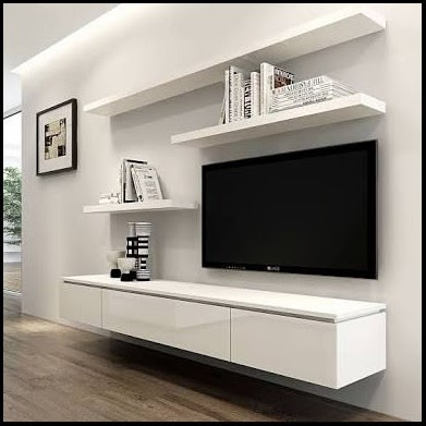 Wall Shelves Floating Entertainment Unit