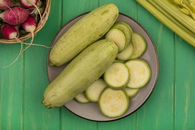 Benefits of zucchini for pregnant women