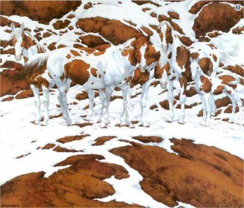 Desafio: Quantos cavalos você vê na imagem?