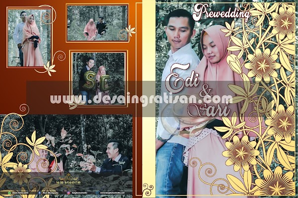 DESAIN GRATISAN COVER & LABEL DVD PERNIKAHAN 04