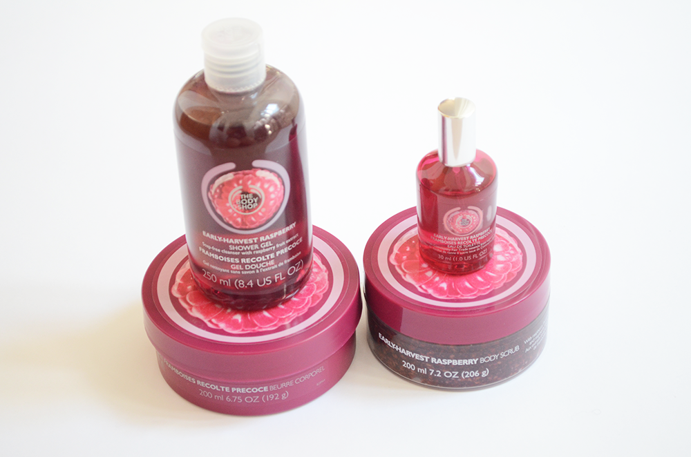 the body shop raspberry collection